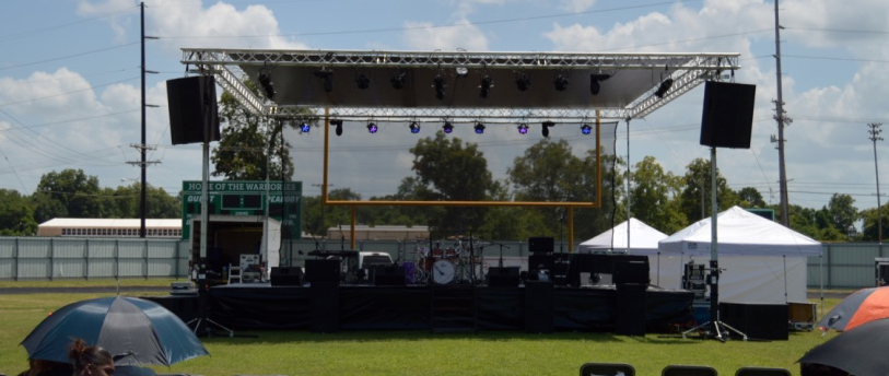 Staging, Rooftops, and Tents – Zoe Audio Visual