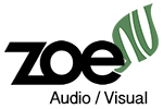 Zoe Audio Visual Logo