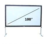 4.08 foot by 7.25 foot fastfold screen