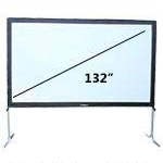 5.33 foot by 9.58 foot fastfold screen