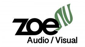 Zoe Audio Visual Logo
